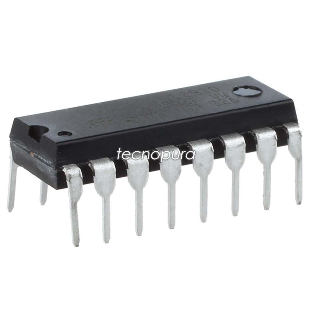 Circuito H : Chip l d circuito integrado driver de motor puente h u tecnopura