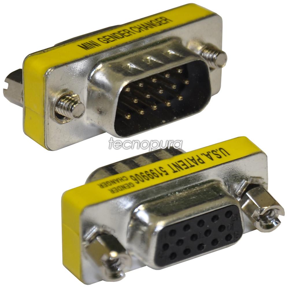 Adaptador VGA hembra de 15 pines a VGA de 15 pines hembra Cable alargador VGA