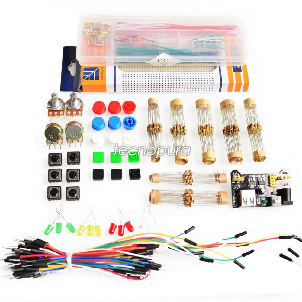 Kit de electrónica para principiantes arduino pic