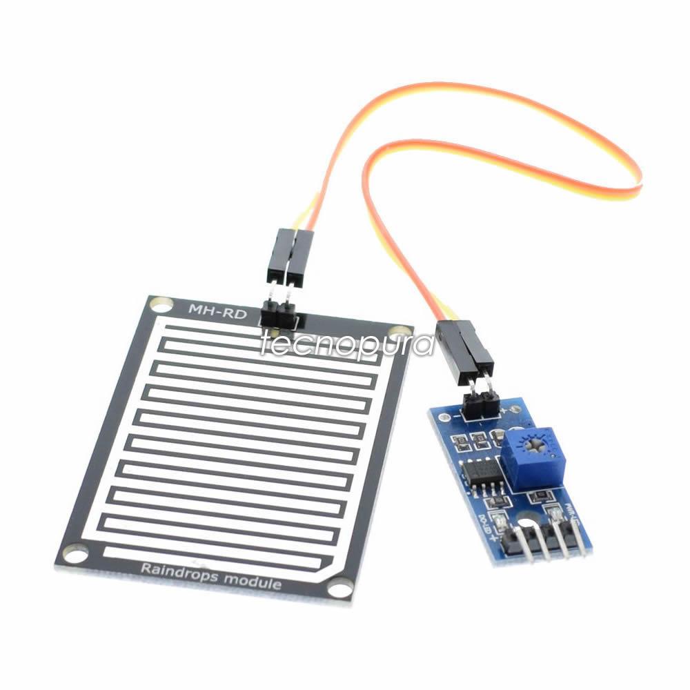 Módulo Sensor Detector De Lluvia Para Arduino Pic Raspberry Pi