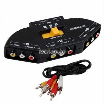 switch-multiplicador-rca-3-entradas-tv-ps2-ps3-xbox360-wii-0
