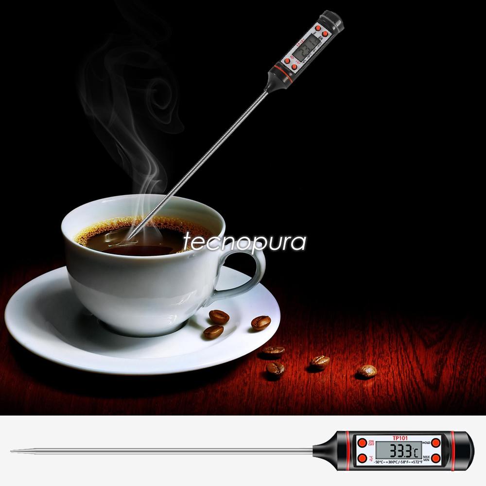 Term metro digital para cocina sonda de temperatura para for Termometro digital cocina
